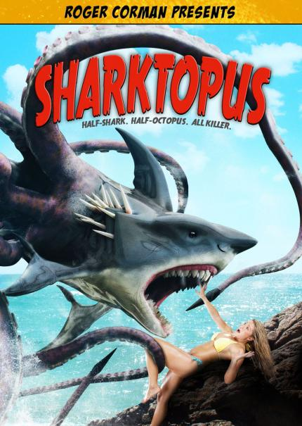 Two Teasers Arrive for Sharktopus vs. Mermantula ...