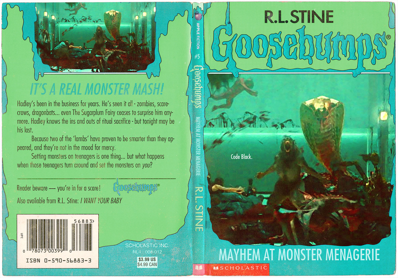 Goosebumps Book Cover Template : What if these films were actually goosebumps novels