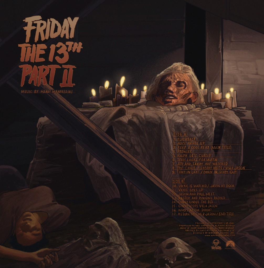 Waxwork Records Releases Friday The 13th Part Ii
