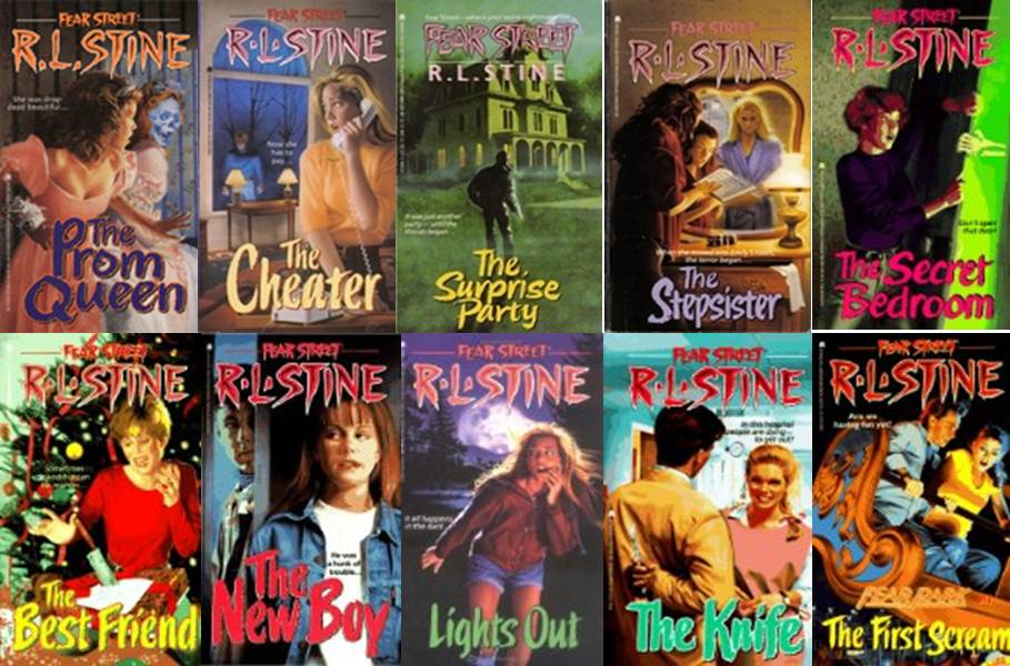 Image result for rl stine fear street books