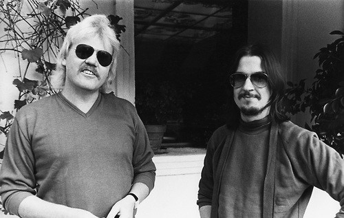 Tangerine Dream 1980 Edgar Froese and Christopher Franke © Chris Walter