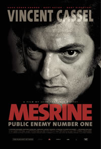 'Mesrine: Public Enemy No. 1' Movie Poster