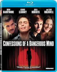 Confessions of a Dangerous Mind on Blu-ray