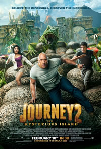 Journey 2: The Mysterious Island poster and trailer
