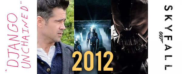 Top Ten Most Anticipated Movies of 2012