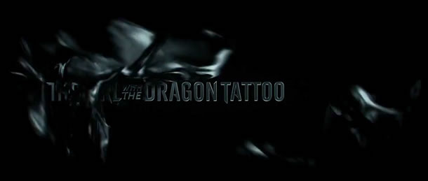 The Girl with the Dragon Tattoo 2011 opening credit sequence