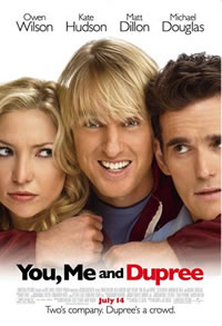 You, Me and Dupree Movie Review