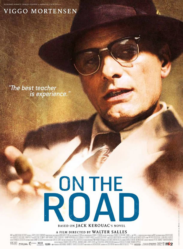 Viggo Mortensen character poster from On the Road