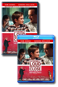 Extremely Loud and Incredibly Close on DVD Blu-ray today
