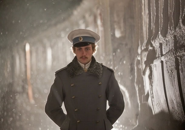 Aaron Johnson in Anna Karenina
