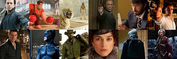 Top 25 Most Anticipated Movies for the Second Half of 2012