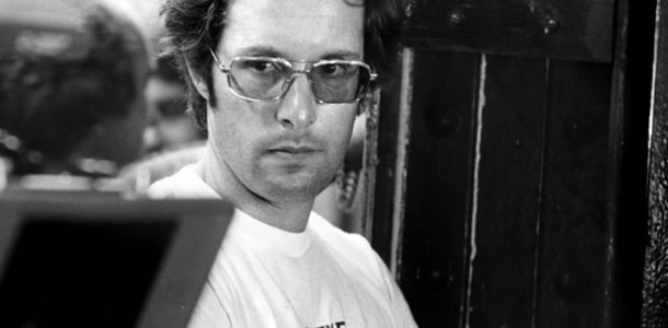 William Friedkin on the set of The Exorcist