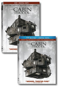 The Cabin in the Woods on DVD Blu-ray today