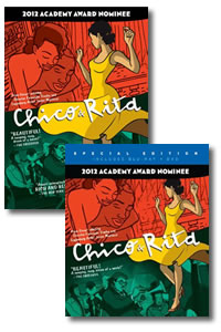 Chico & Rita on DVD Blu-ray today
