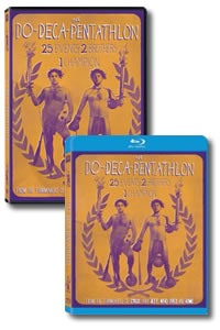 The Do-Deca-Pentathlon on DVD Blu-ray today