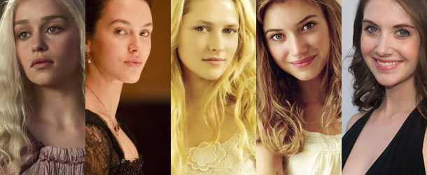 Emilia Clarke, Jessica Brown Findlay, Teresa Palmer, Imogen Poots and Alison Brie