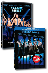 Magic Mike on DVD Blu-ray today