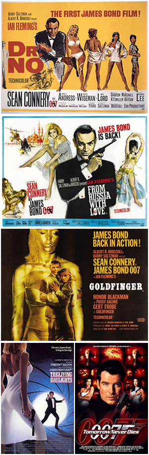 Best and Worst of the James Bond Movies