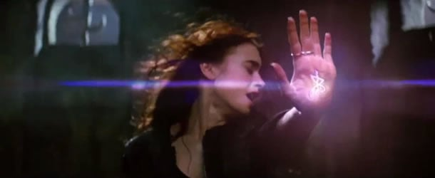 Lily Collins in The Mortal Instruments: City of Bones