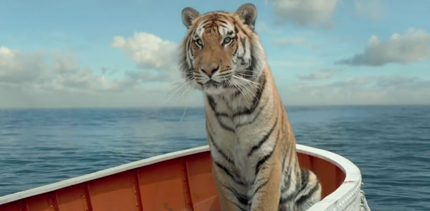 Richard Parker in Life of Pi