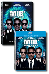 Men in Black III on DVD Blu-ray today