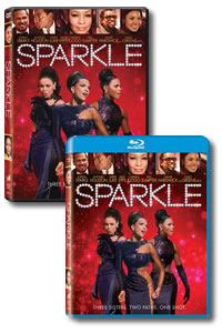 Sparkle on DVD Blu-ray today