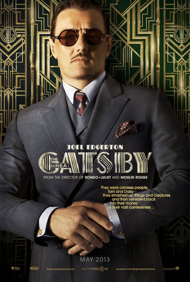 The Great Gatsby poster (Joel Edgerton)