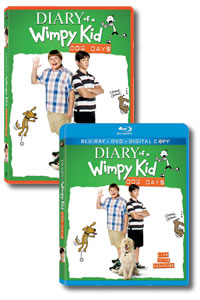 Diary of a Wimpy Kid: Dog Days on DVD Blu-ray today