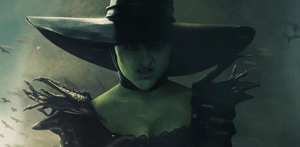 east or west which witch is this in new poster for oz