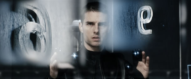 Tom Cruise in Minority Report
