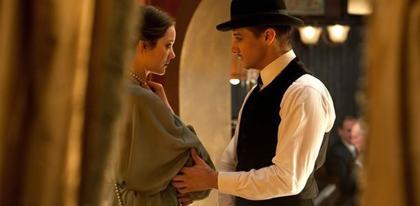 Jeremy Renner and Marion Cotillard in The Nightingale