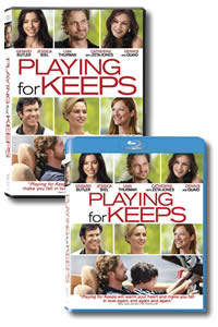 Playing for Keeps on DVD Blu-ray today