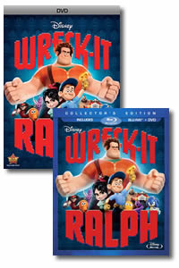 Wreck-It Ralph on DVD Blu-ray today