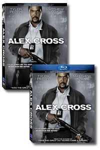 Alex Cross on DVD Blu-ray today