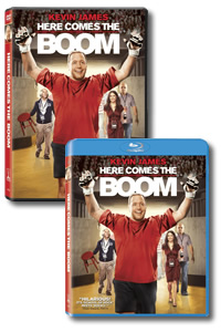 Here Comes the Boom on DVD Blu-ray today