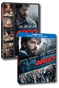 Argo on DVD Blu-ray today