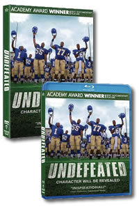 Undefeated on DVD Blu-ray today