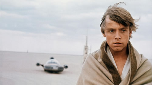 Mark Hamill in Star Wars