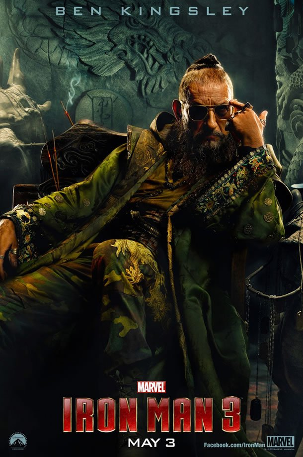 Iron Man 3 Poster (The Mandarin)