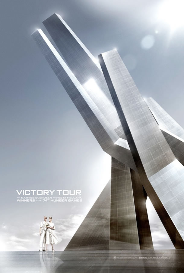 The Hunger Games: Catching Fire - Victory Tour Poster #2