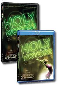 Holy Motors on DVD Blu-ray today