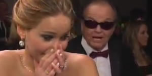 Jennifer Lawrence meets Jack Nicholson