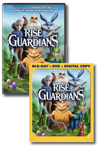 Rise of the Guardians on DVD Blu-ray today