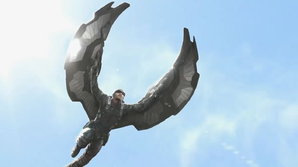 Captain America: The Winter Soldier Falcon Concept Art #2