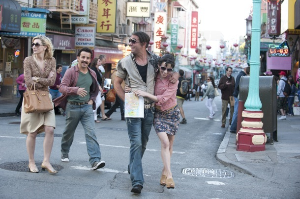 Cate Blanchett, Max Casella, Bobby Cannavale and Sally Hawkins in Blue Jasmine