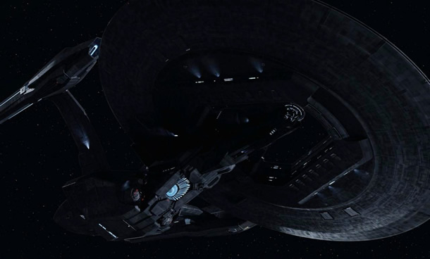 USS Vengeance in Star Trek Into Darkness
