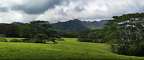 Jurassic Park 4 scouting photo of Isla Nublar