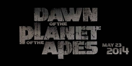 Dawn of the Planet of the Apes title treatment