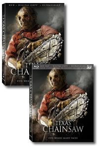 Texas Chainsaw on DVD Blu-ray today