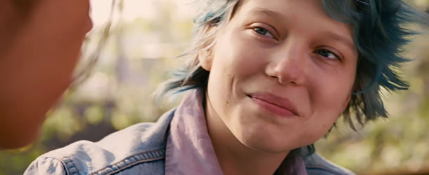 Léa Seydoux in Blue is the Warmest Color